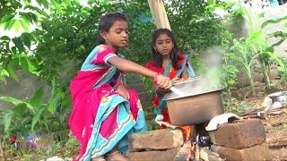 Village Kids Cooking Of Chicken Recipes by Manavantalu