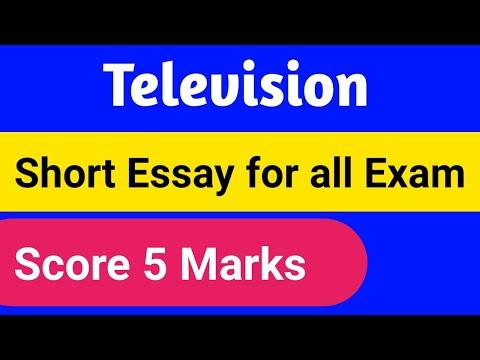 television- -short-essay- -for-sslc-students