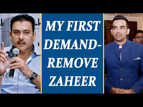 Ravi Shastri demands Bharat Arun as bowling coach, not Zaheer Khan | Oneindia News