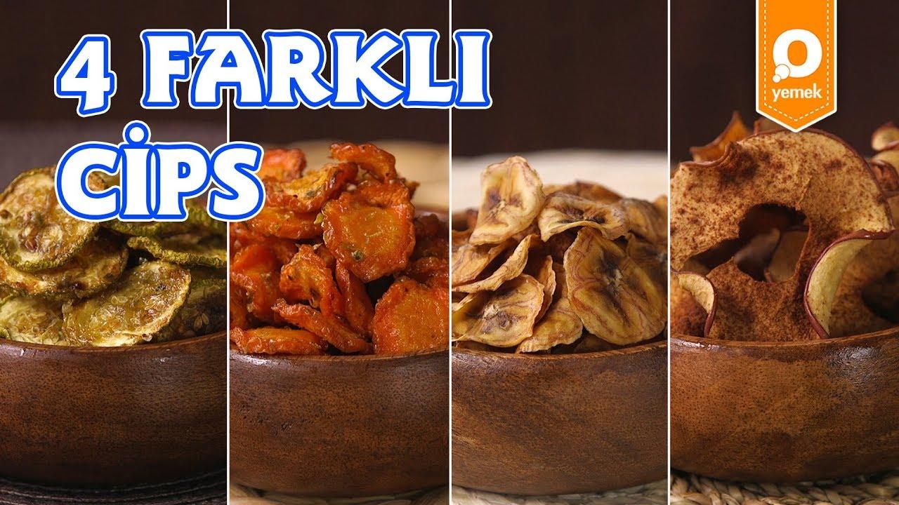 4 Farklı Cips Tarifi - Onedio Yemek - Tek Malzeme Çok Tarif