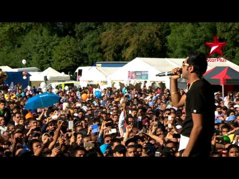 Gippy Grewal performing at Sandwell & Birmingham Mela 2014