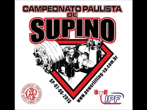 Campeonato Paulista de Supino 2015