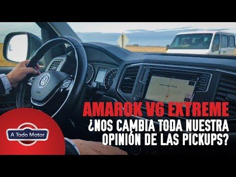 Amarok V6 Extreme 4️⃣✖️4️⃣ ¿CAMBIA TODA NUESTRA FORMA DE VER LAS PICK UPS en la ciudad?