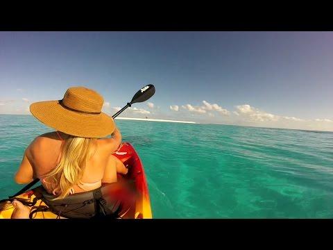 Exploring Duff Reef in Fiji on Catamaran QUIXOTIC