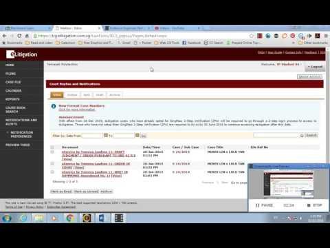 E-Litigation Part 1