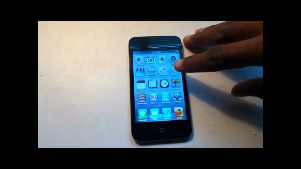 How-To: Setup Your Apple iPod Touch 4th Generation (8gb ...