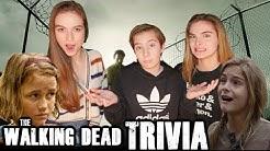 The Walking Dead Trivia Madison Lintz SOPHIA Peletier vs LIZZIE Samuels Brighton Sharbino Q&A TWD
