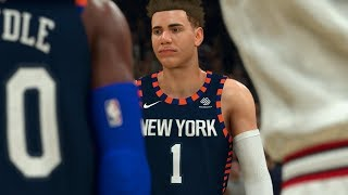 NBA 2K20 LaMelo Ball My Career Ep. 8 - MUST WIN GAME TO MAKE PLAYOFFS!