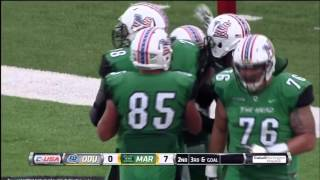 Marshall highlights vs old dominion football 2015