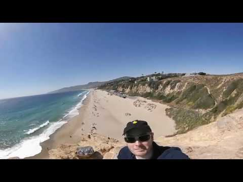 Camera Test of the Insta360 Air - Zuma Beach, Malibu