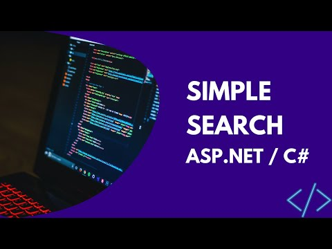 Simple Search (ASP.NET / C#)
