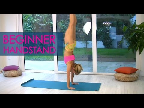 Beginner Yoga Handstands with Kino