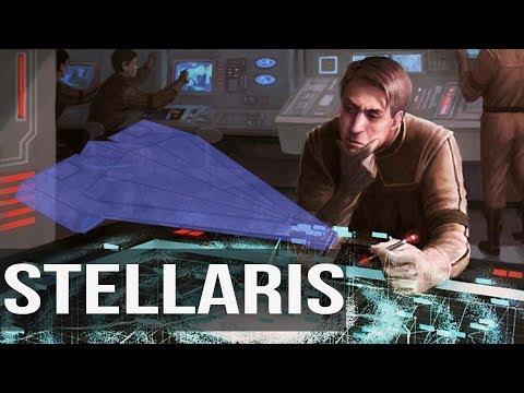 Stellaris Season 3 - #19 - Quasar Carrier's Supporting the Fleet