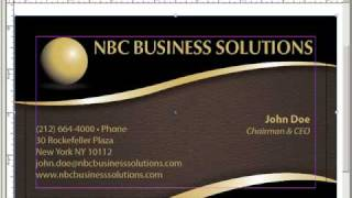 Indesign Business Card Template With Bleeds
