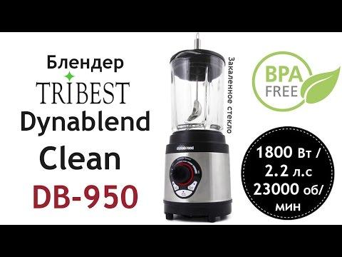 Обзор блендера Tribest Dynablend Clean DB-950