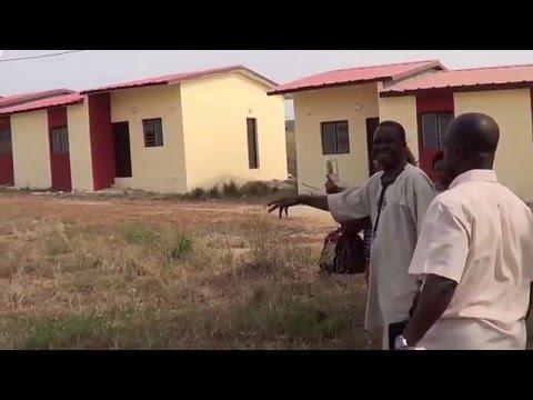 """VISITE CITE """"FONDATION GENERALE AKISSI """" de SONGON RTE DABOU"""