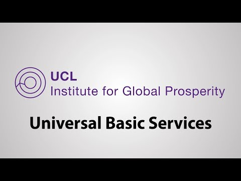 Universal Basic Services