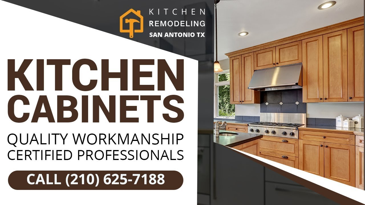 Kitchen Cabinets San Antonio TX | Call (210) 625-7188