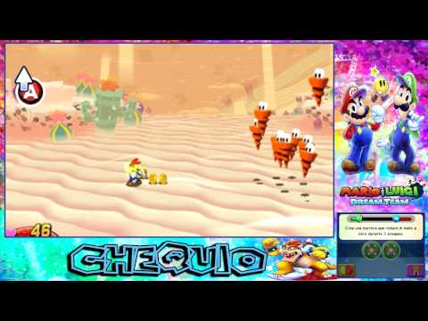 Mario & Luigi: Dream Team Bros - Parte 15  - Flor de Fuego - Chequio Videos De Viajes