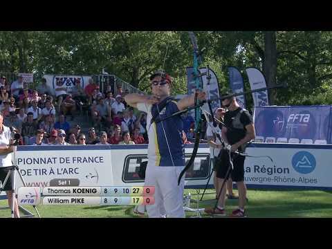 Koenig - Pike Or JHCL | Championnat de France FITA Jeunes Vichy 2017
