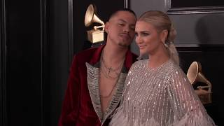 Ashlee Simpson and Evan Ross on the Red Carpet | 2019 GRAMMYs