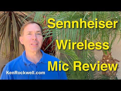 Sennheiser Wireless Lavalier Mic Review 4K