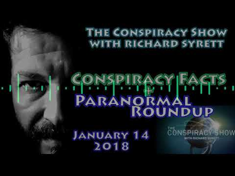 Conspiracy Facts 2018 & Paranormal News | The Conspiracy Show for January 14, 2018