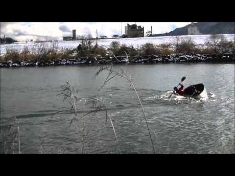 2016 1 19 HIROSHIMA still water free style kayak