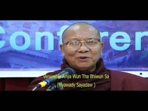 """Day3. """"Religious for Peace: Buddhist Perspective on Building Peace in Myanmar""""Myawady Sayadaw"""