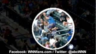 Baseball Hits Boy at Mets-Marlin Game in New York