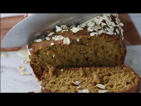Healthy Pumpkin Quick Bread (Gluten Free)