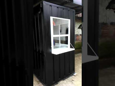 Kios Semi Kontainer Cocok Untuk Jualan Es Kopi