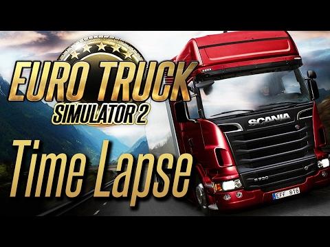 Euro Truck Simulator 2   A Time Lapse Drive Across the United Kingdom & Europe   #2