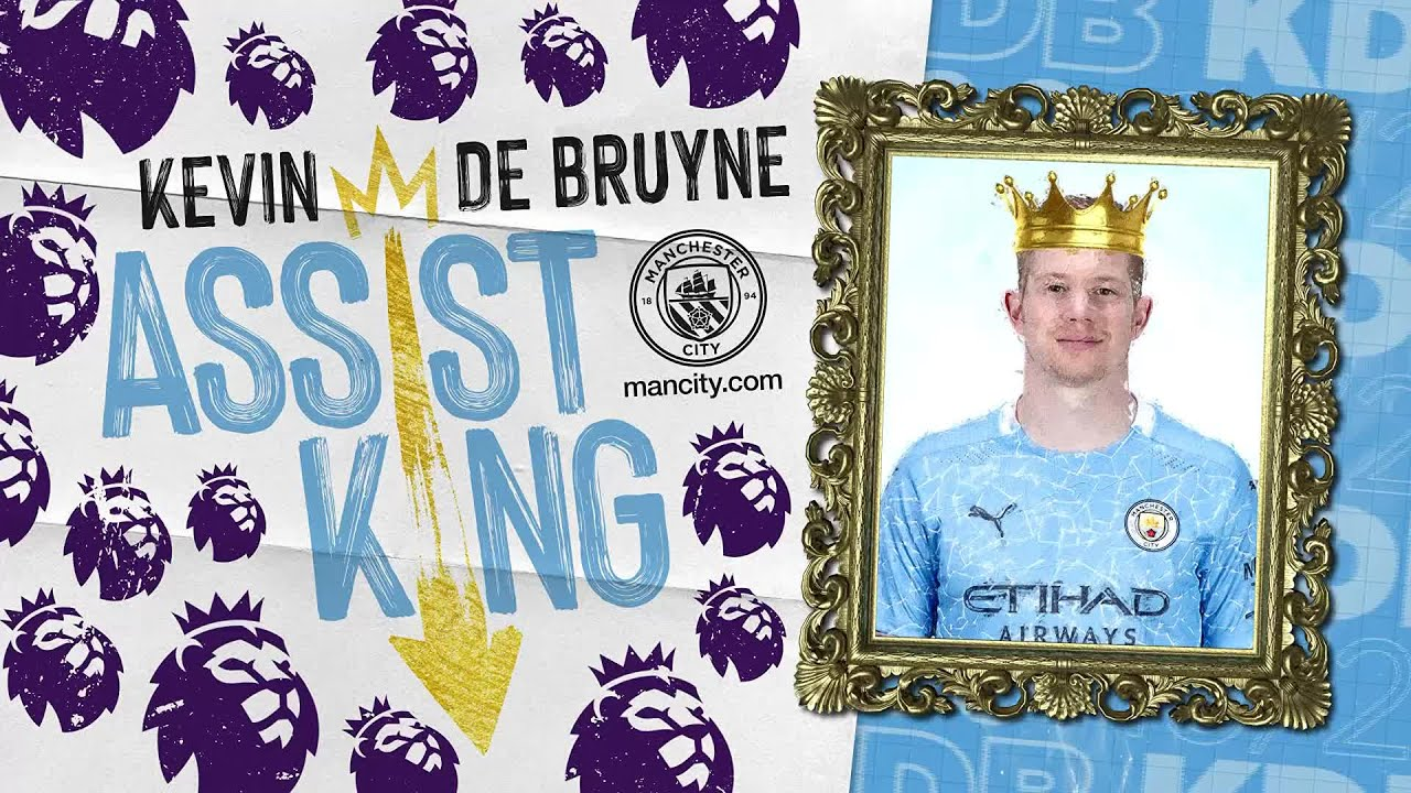 KEVIN DE BRUYNE | ASSIST KING | EQUALS THIERRY HENRY'S LEAGUE RECORD