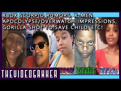 Xbox Scorpio Rumors, Overwatch/X-men Impressions, Gorilla Shot to Save Child, Etc! | SiO #14
