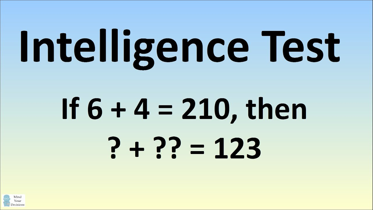 Can You Solve This Intelligence Test Viral Facebook Puzzle