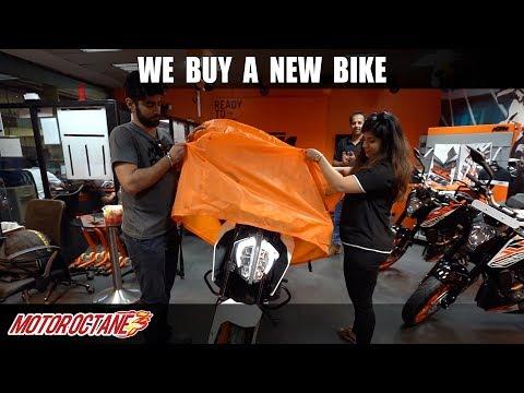 We buy a new bike - KTM Duke 390 2019 | Hindi | MotorOctane
