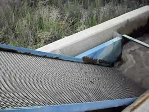 Self Cleaning Trash Screen For Irrigation Water - Delta, Colorado