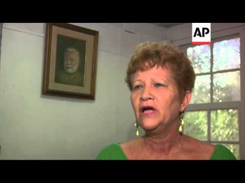 US congressman celebrates Hemingway legacy in Cuba
