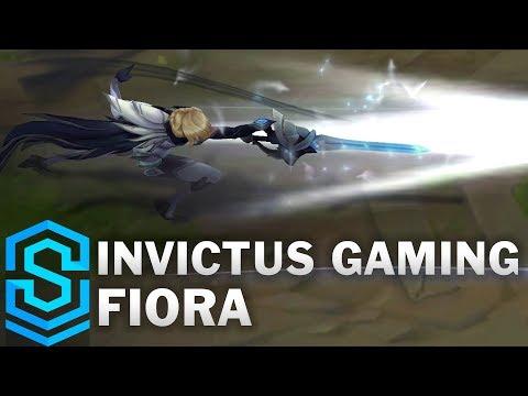 Invictus Gaming Fiora Skin Spotlight - Pre-Release - League of Legends