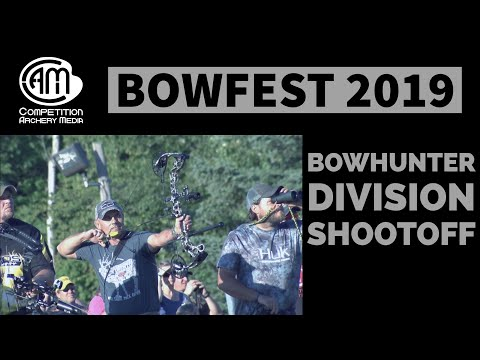 Bowfest 2019 Bowhunter Division Shootoff