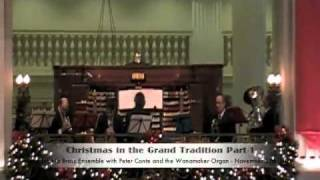 Christmas in the Grand Tradition Part-1 Wanamakers Philadelphia Pa 11-27-2010