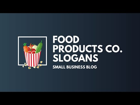 Best Food Products Business Slogans & Taglines