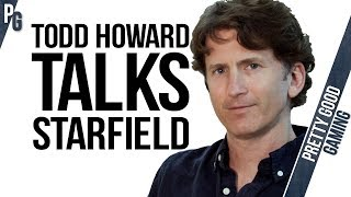 Todd Howard REGRETS ANNOUNCING STARFIELD! (totally not clickbait)