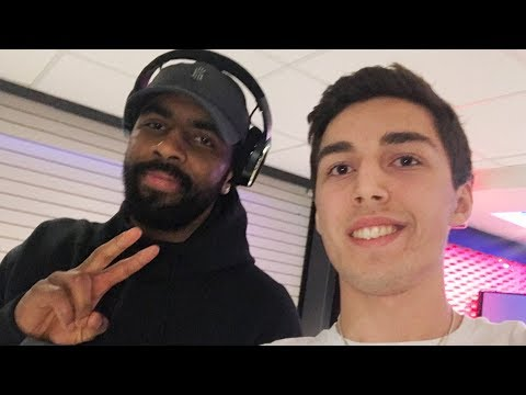 KYRIE IRVING WATCHES MY VIDEOS!!
