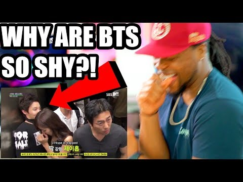 BTS   Sad Girl Elevator Prank (Why They so Shy?) Reaction!!! Full Eng