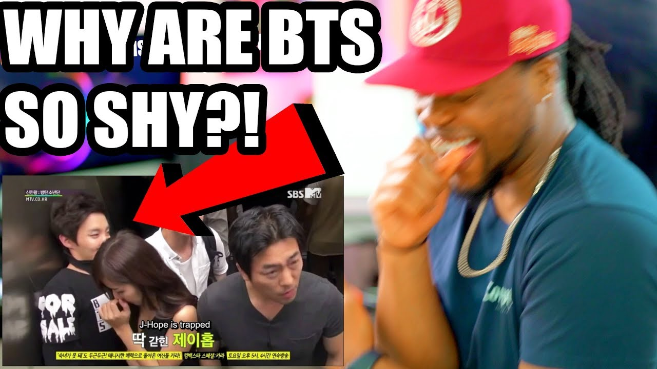 BTS | Sad Girl Elevator Prank (Why They so Shy?) Reaction!!! Full Eng