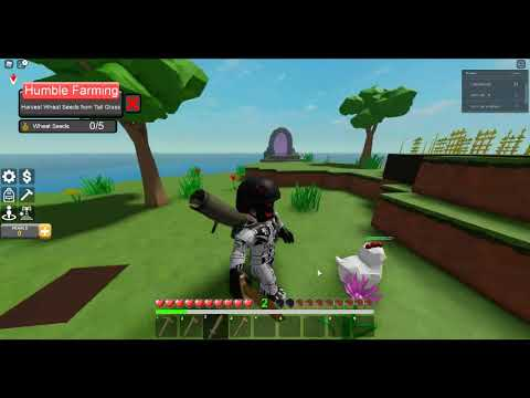 Playing roblox stranded for my 1st time! |
