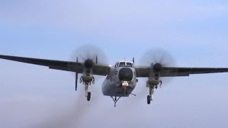 Northrop Grumman - C-2A Greyhound Carrier Onboard Delivery Aircraft [720p]