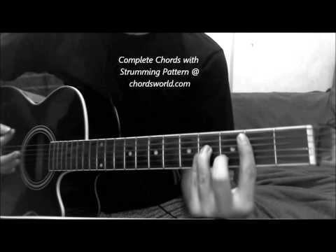 Bartender Chords by Lady Antebellum - How To Play - chordsworld.com